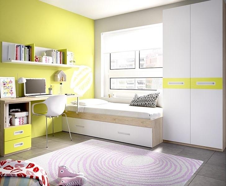 Cameretta moderna k 253 mobili per ragazzi e bambini for Scrivanie angolari per camerette