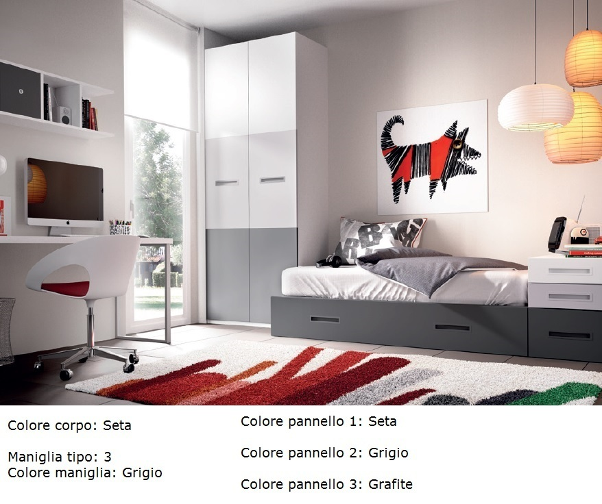 Colori camerette per bambini fabulous pareti camerette - Colori x camerette ...
