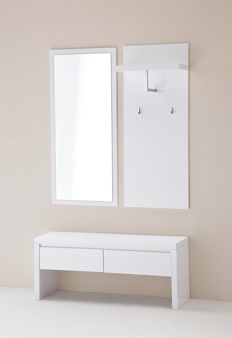 Entrata moderna melissa 44 mobili ingresso corridoio bianco for Mobili sala angolari