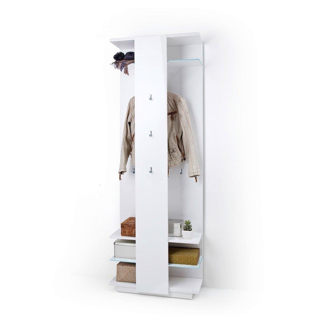 Appendiabiti Ingresso.Entrata Moderna Gea Mobile Ingresso Attaccapanni Guardaroba Bianco Per Corridoio