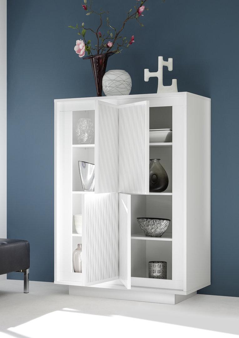 Credenza moderna Dolce, mobile soggiorno sala da pranzo in 7 colori ...