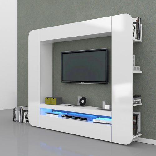 Parete salotto moderno mobile etnico parete soggiorno for Casa moderna zurigo