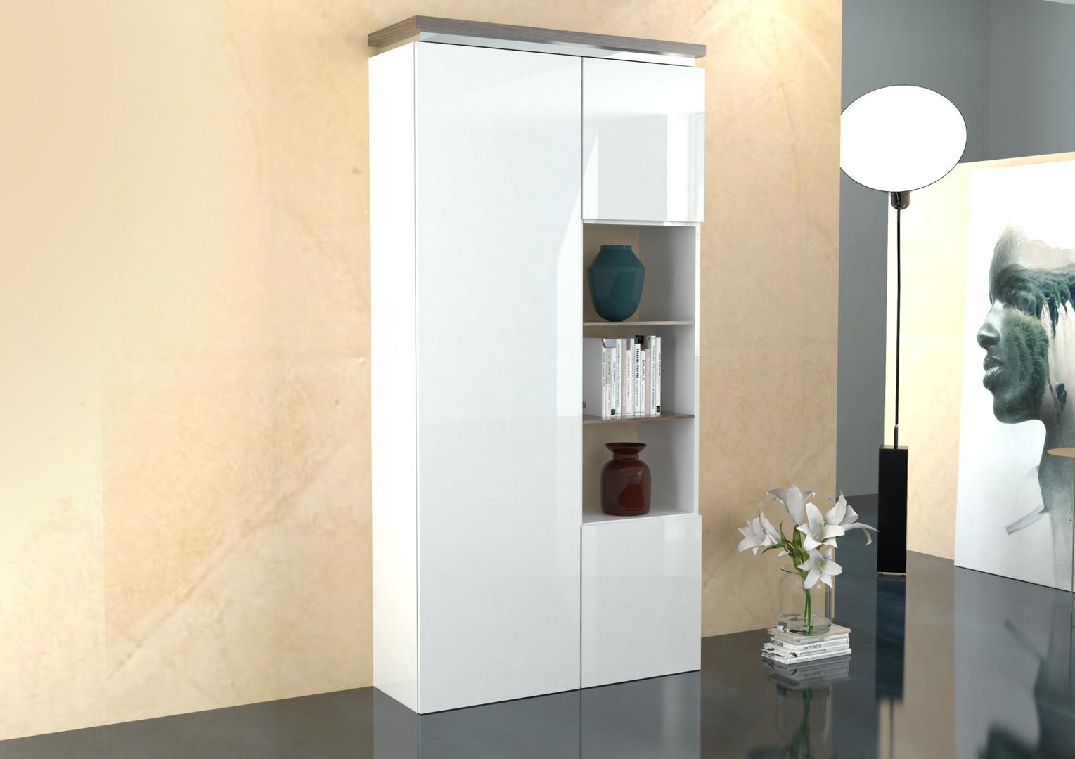 Credenza moderna messico, mobile soggiorno sala da pranzo bianco