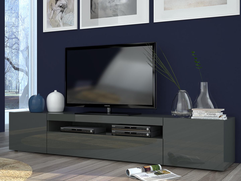 porta tv moderno mojito, mobile soggiorno in 2 misure e 2 colori - Colori Per Soggiorno Moderno 2