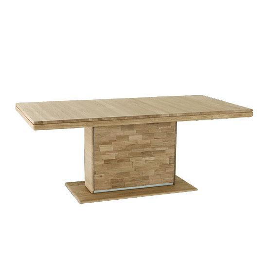 Tavolo allungabile in legno massiccio Enea - Arredions