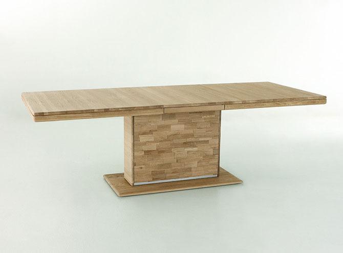 Tavolo allungabile in legno massiccio enea arredions - Tavolo allungabile in legno massiccio ...