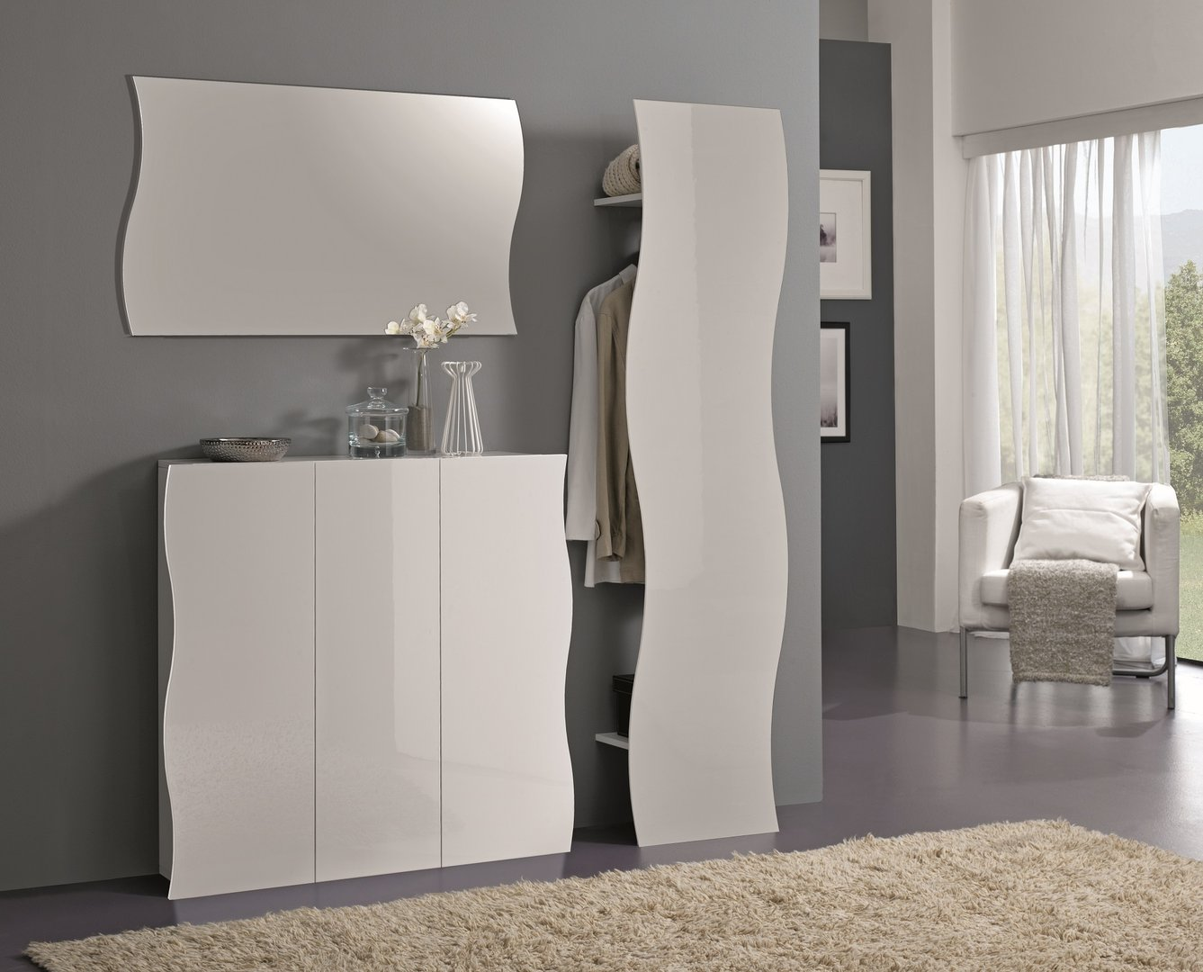 mobili per ingresso guardaroba pannelli decorativi plexiglass. Black Bedroom Furniture Sets. Home Design Ideas