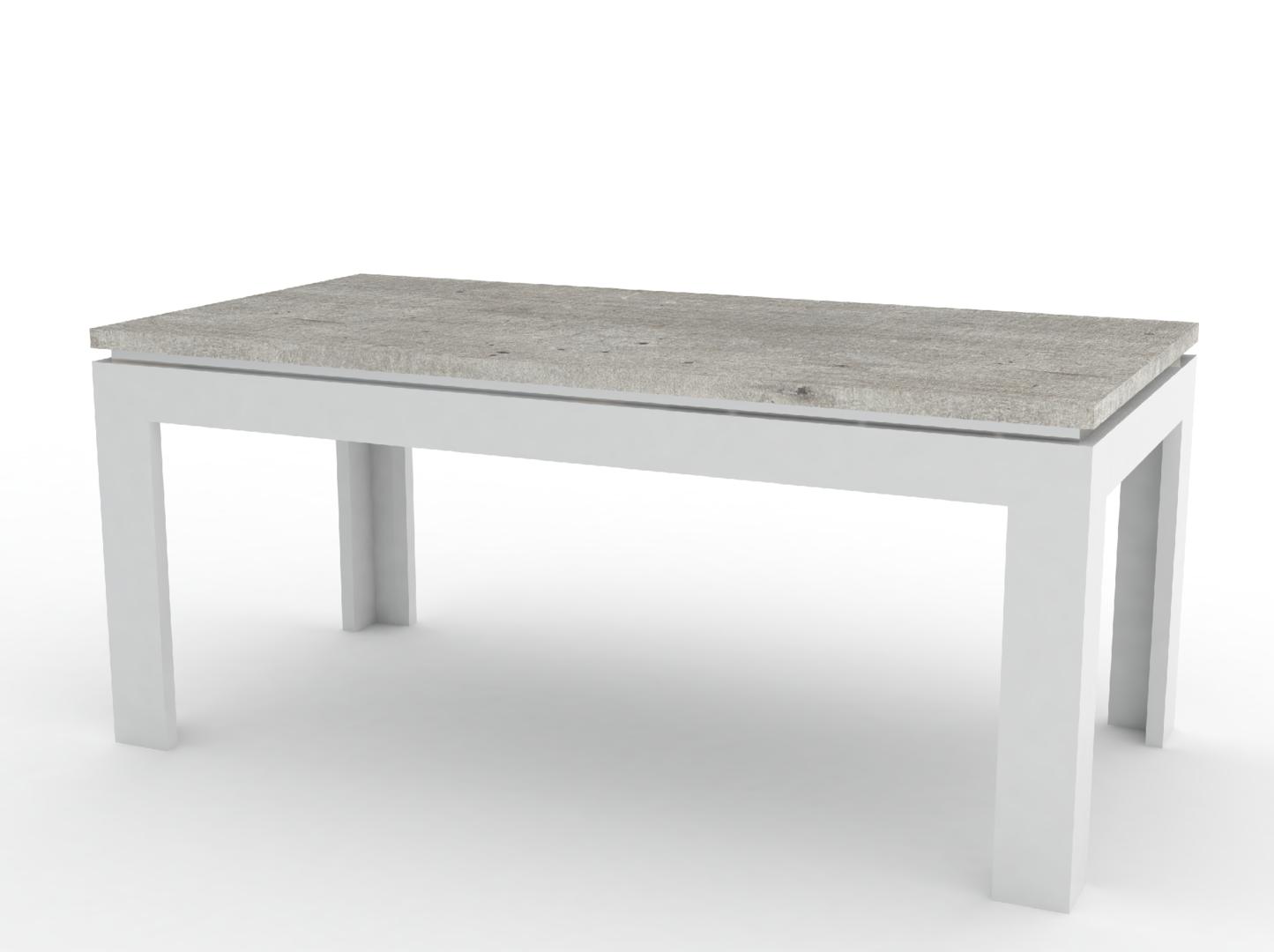 Tavolo moderno bianco messico mobile per sala da pranzo - Tavolo per soggiorno ...