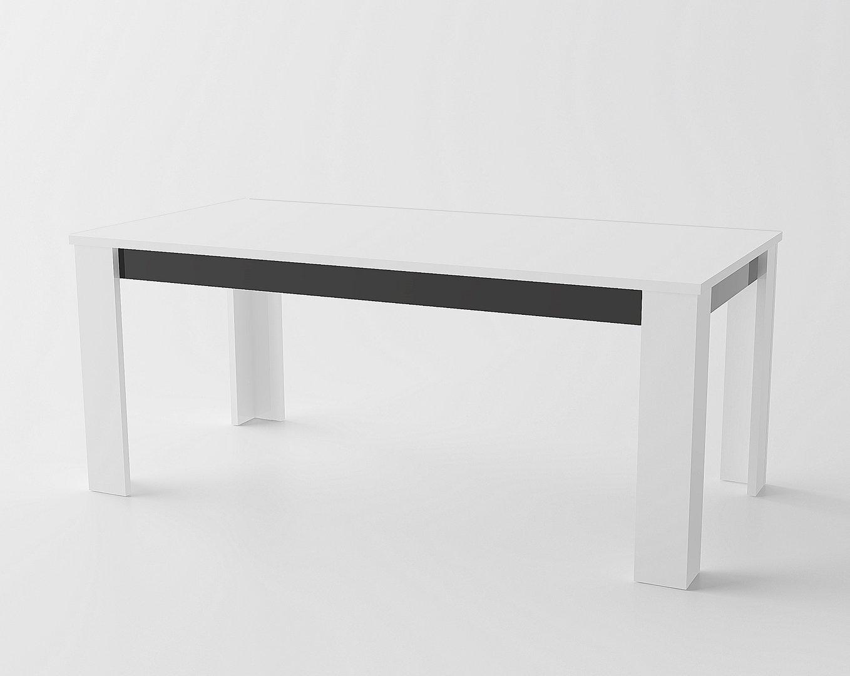 Tavolo bianco collezione avana mobile cucina sala da pranzo - Mobile cucina bianco ...