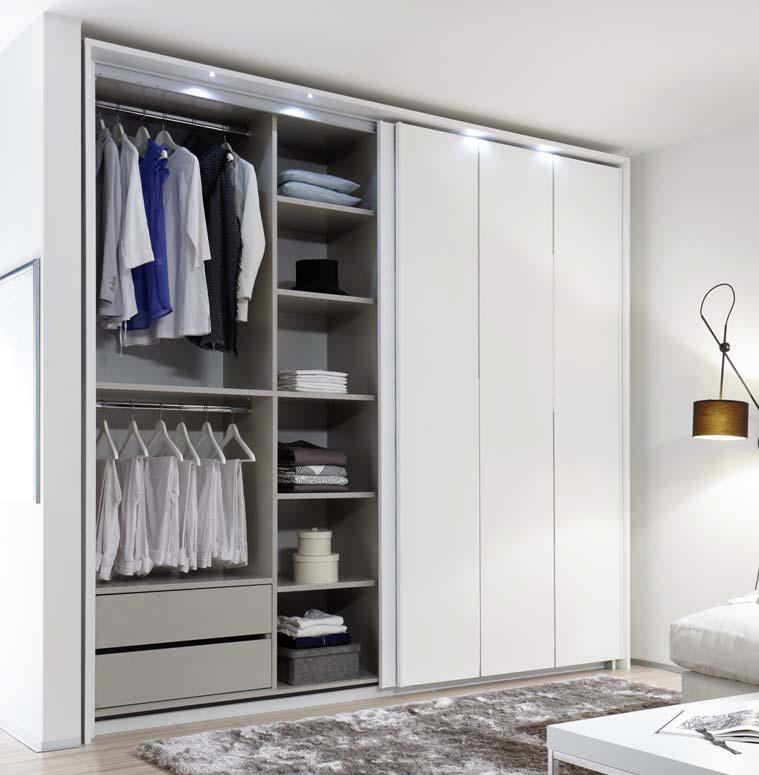 Camera da letto completa cometa mobili moderni letto armadio - Camera da letto completa moderna ...