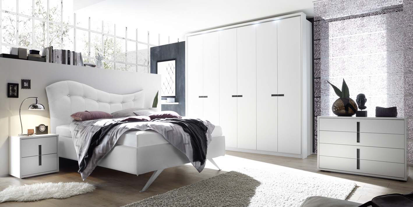 Letto matrimoniale celeste a due piazze 180x200 in 4 colori - Colori camera da letto moderna ...