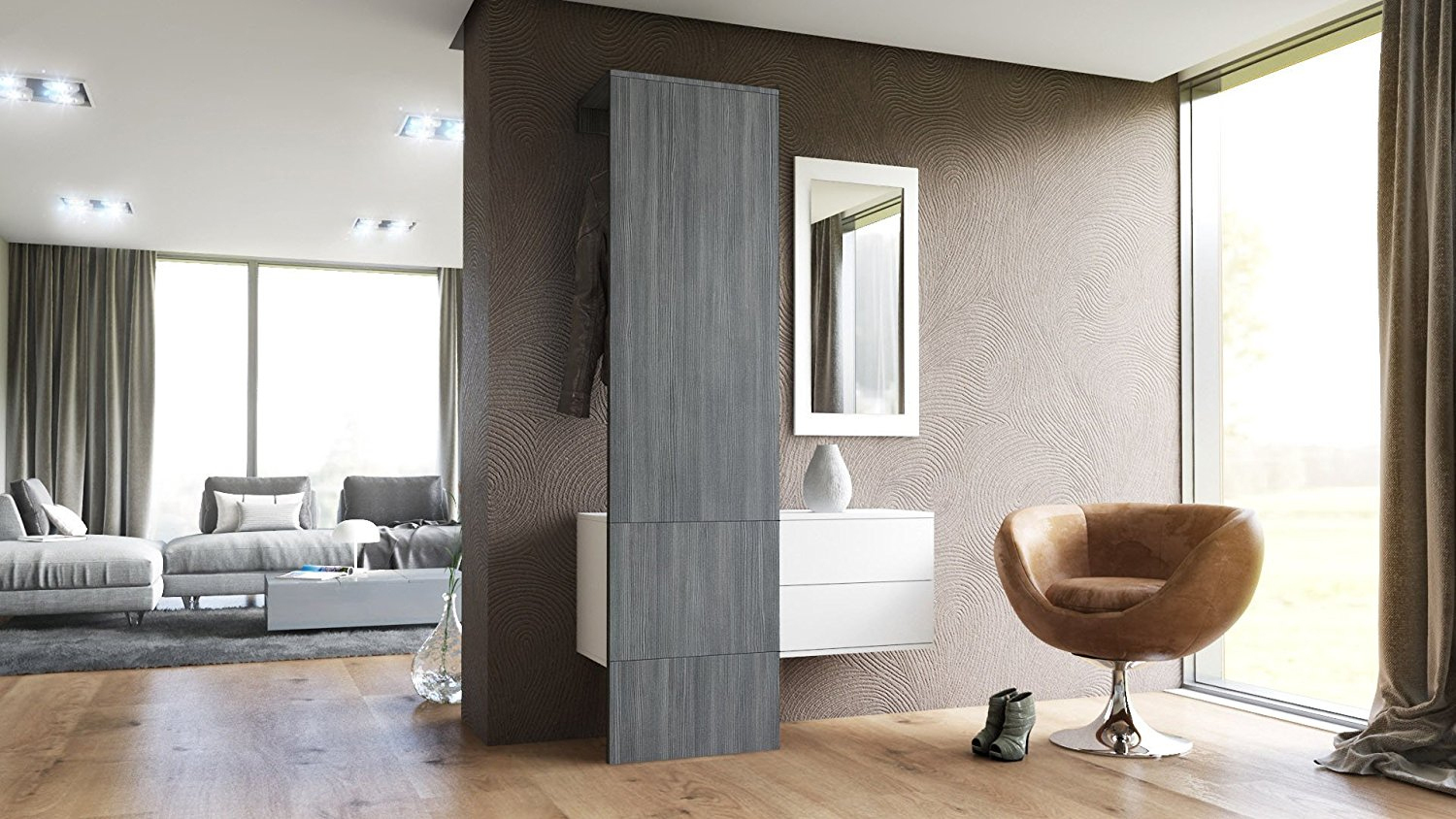 entrata moderna neve composizione 2 ingresso mobile corridoio. Black Bedroom Furniture Sets. Home Design Ideas