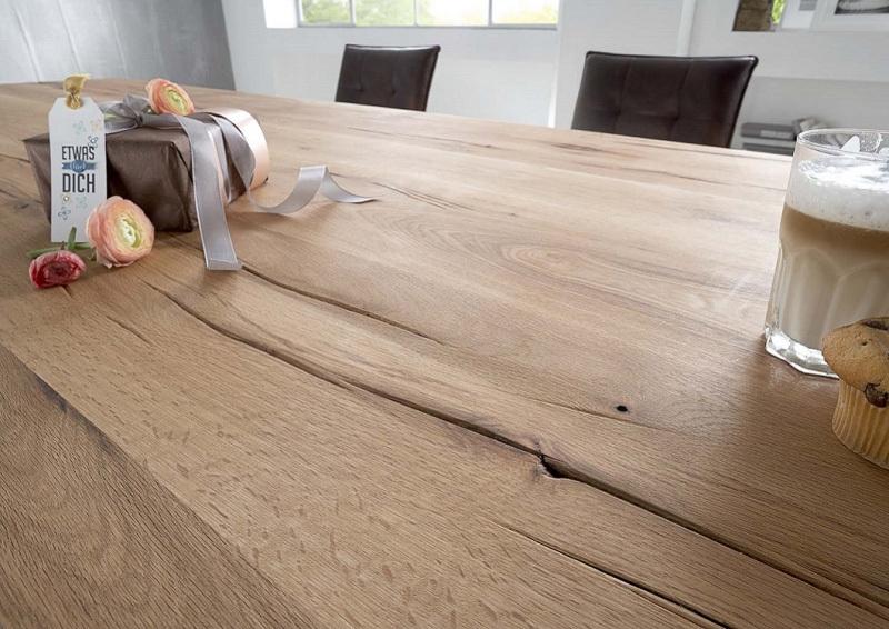 Tavolo in legno massiccio adamello mobile per cucina for Cucina sala da pranzo