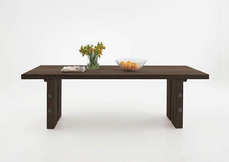 Tavolo in legno massiccio Adamello, mobile per cucina, soggiorno ...
