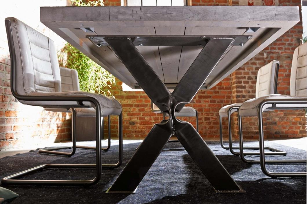 Tavolo massiccio cervino mobile in legno per sala da pranzo for Mobile sala da pranzo moderno