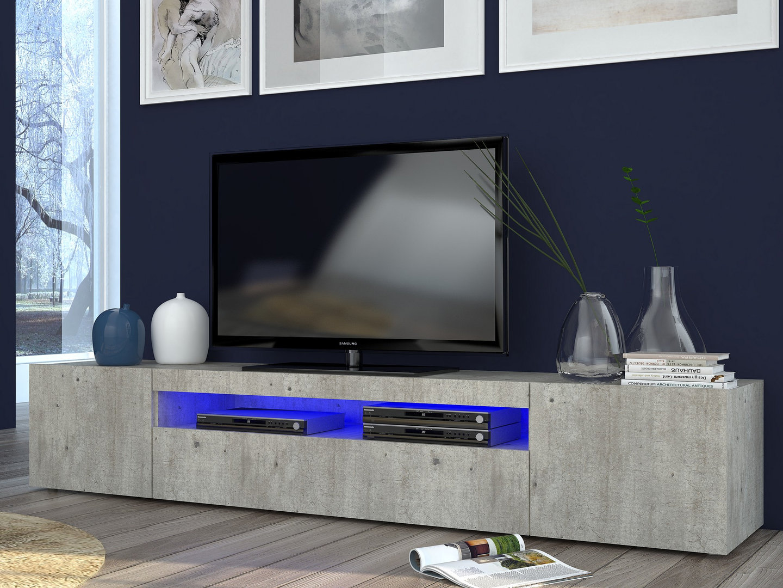Porta tv particolare e di effetto mojito c mobile per soggiorno