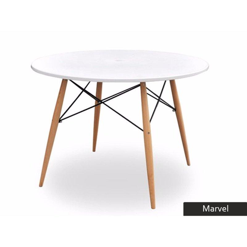 tavolo rotondo marvel per cucina, tavolo sala da pranzo moderno - Tavolo Cucina Rotondo