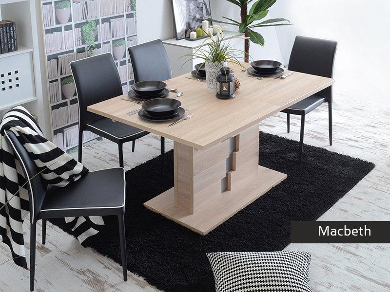 sala pranzo soggiorno tavolo allungabile moderno macbeth per cucina sala da pranzo