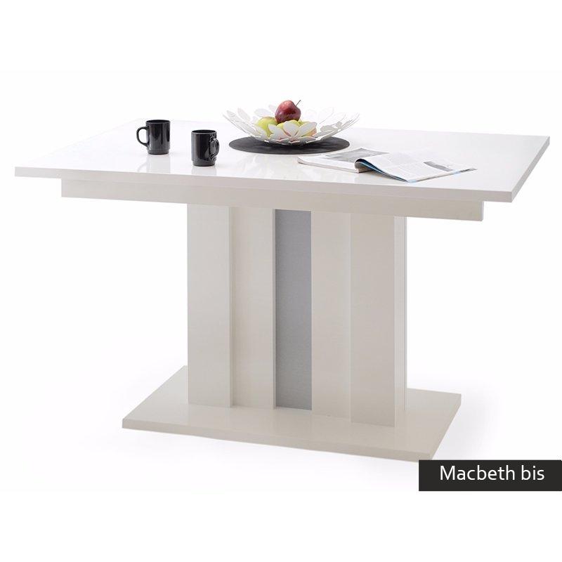 Tavolo allungabile moderno macbeth bis cucina sala da pranzo for Tavolo cucina bianco allungabile