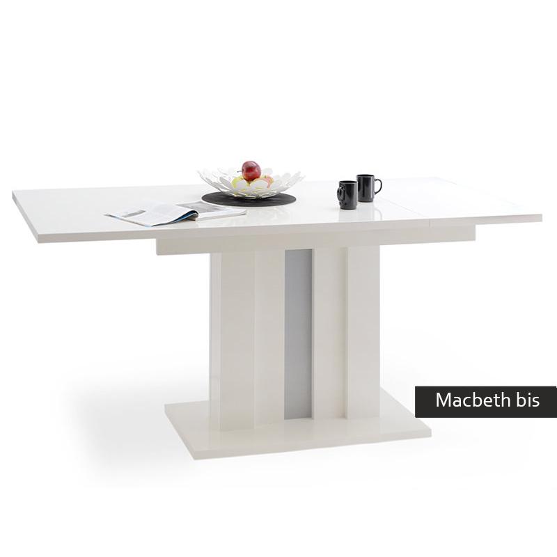 Tavolo allungabile moderno macbeth bis cucina sala da pranzo for Tavolo rovere bianco