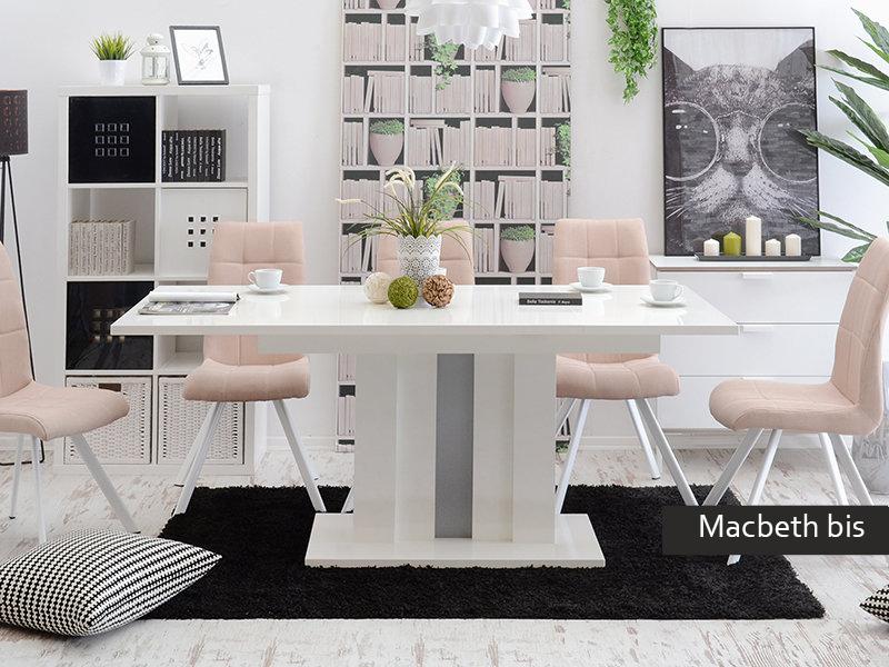 Tavolo allungabile moderno macbeth bis cucina sala da pranzo for Tavolo sala da pranzo bianco