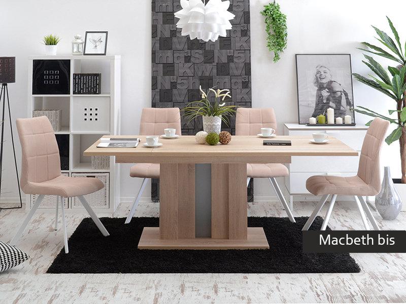 Tavolo allungabile moderno macbeth bis cucina sala da pranzo for Tavolo sala allungabile