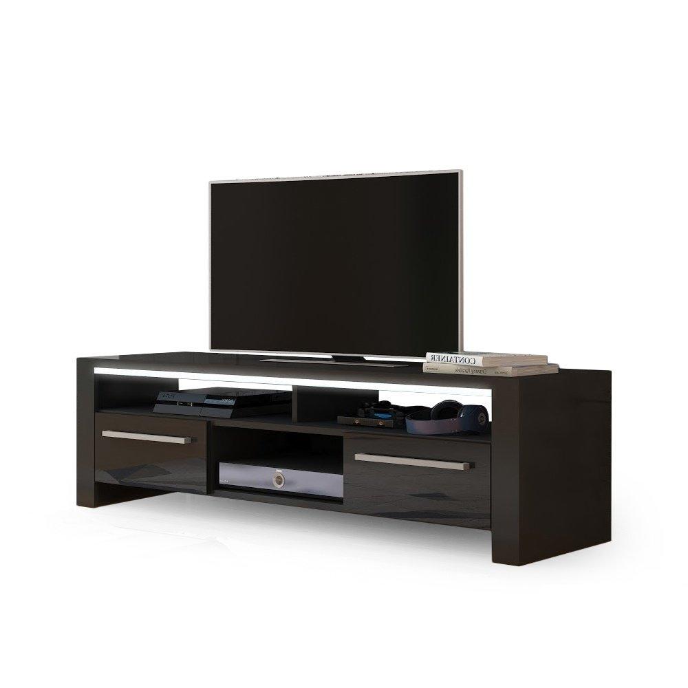 Porta tv pratico capiente e funzionale kant mobile soggiorno in 4 colori moderni arredions - Porta tv nero ...