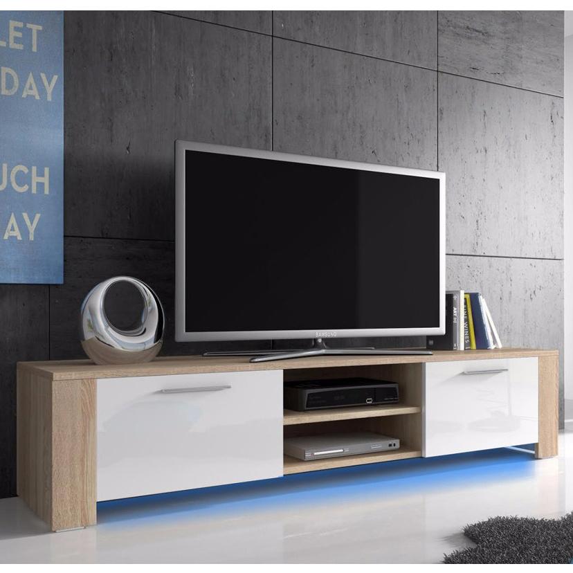Porta tv Maximum, mobile per televisore moderno, soggiorno