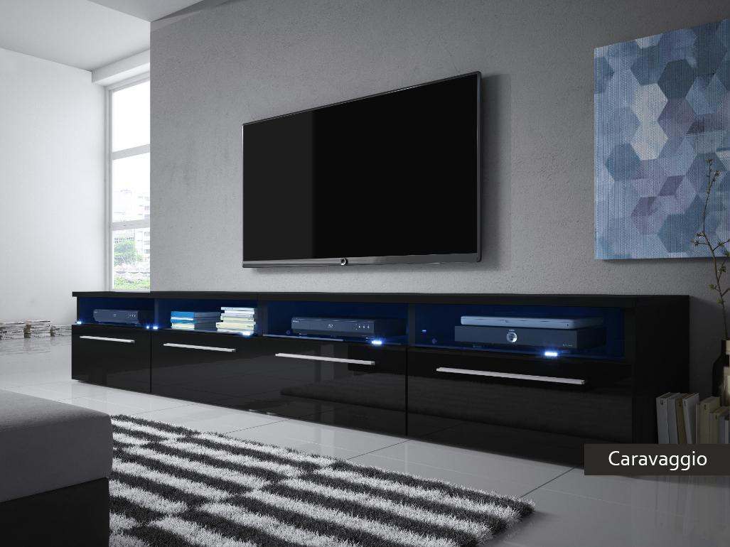 Mobile per televisore caravaggio porta tv per soggiorno for Mobili x soggiorno moderni