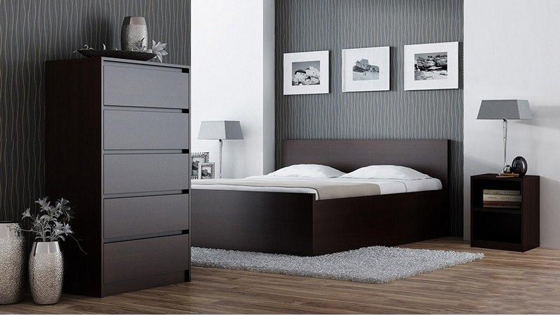cassettiera moderna andromeda plus, mobile soggiorno 2 modelli - Soggiorno Wenge Moderno 2