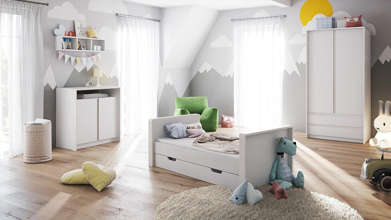 fasciatoio baby bianco mobile cameretta per bambini in 7