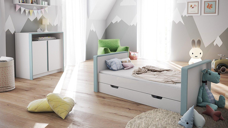 Lettino bianco baby mobile cameretta bimbi culla letto - Sponda letto bimbo store ...