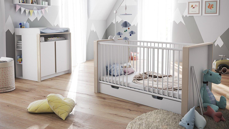 Lettino bianco baby mobile cameretta bimbi culla letto - Sponda letto io bimbo ...