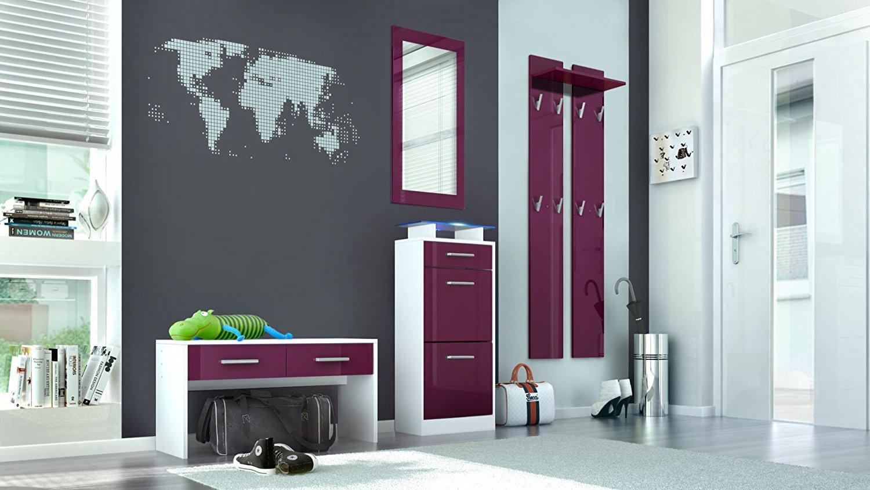 Ingresso moderno sincro s2 mobili per entrata corridoio - Colori a specchio ...