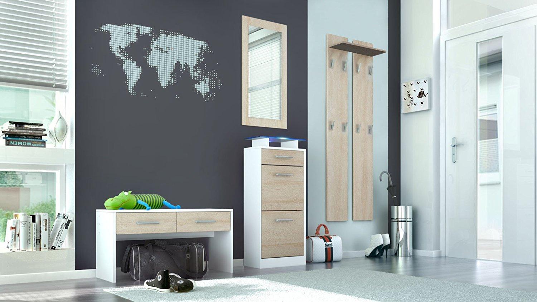 Ingresso moderno sincro s2 mobili per entrata corridoio - Appendi specchio ...