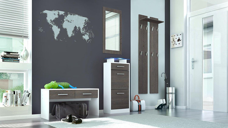 Ingresso moderno sincro s2 mobili per entrata corridoio for Specchio wenge