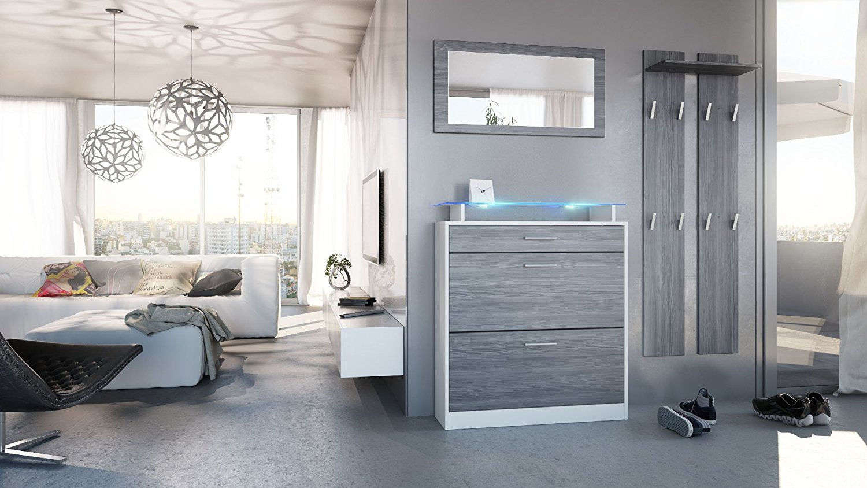 Entrata alice mobili ingresso disimpegno scarpiera specchio for Mobili entrata design