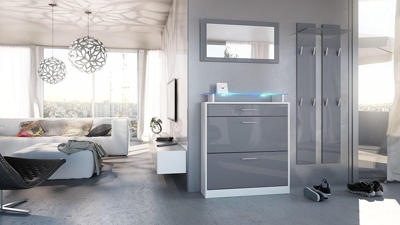 Entrata alice mobili ingresso disimpegno scarpiera specchio for Mobili ingresso design nuova costruzione