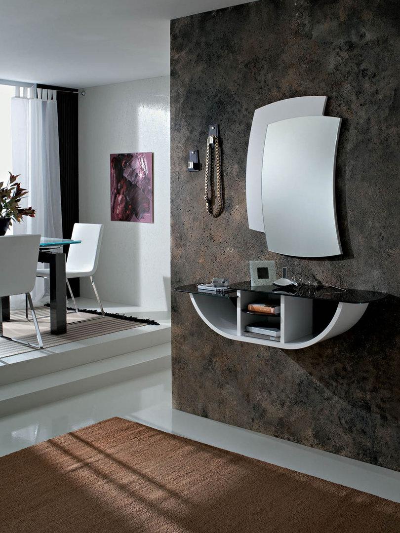 Loira entrata moderna appesa con specchio appendiabiti - Colori a specchio ...