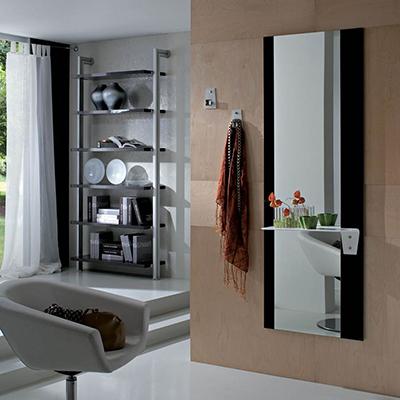 Piave specchio moderno, mobile ingresso, corridoio,con appendini