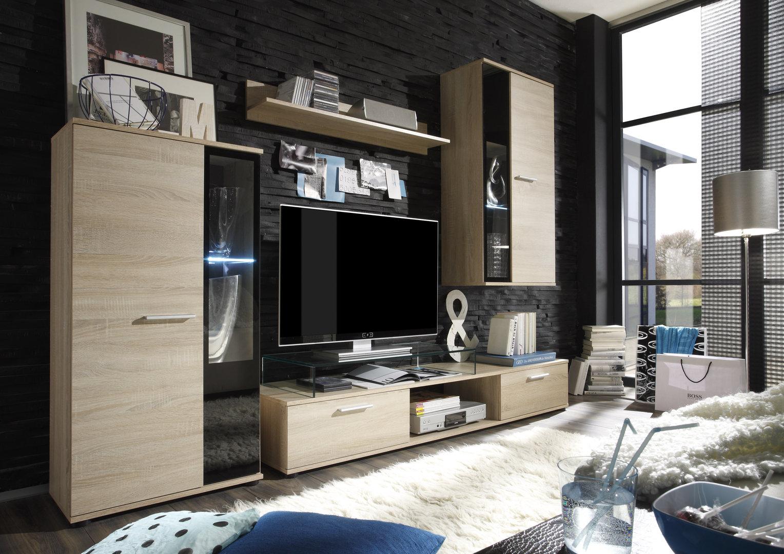 Soggiorno queen composizione moderna parete di design for Composizione soggiorno moderno