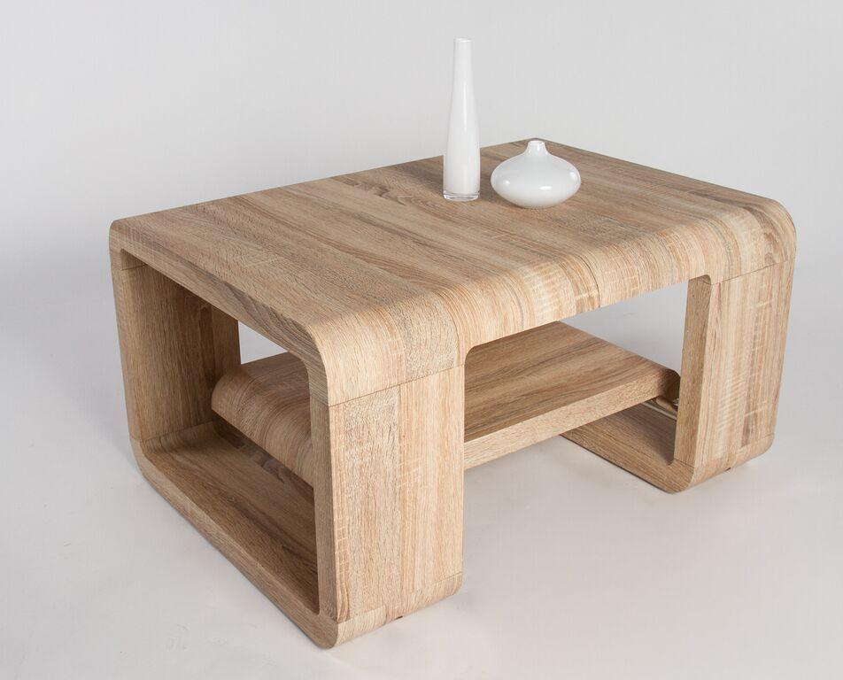 Tavolino Salotto Rovere Chiaro.Tavolino Da Caffe Good Tavolo Moderno Di Design Bianco O Rovere