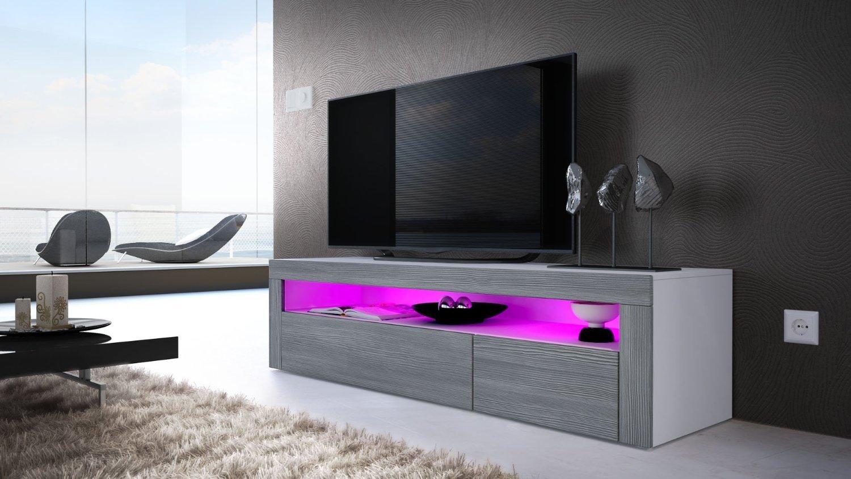 Giglio porta tv di design mobile soggiorno portatv moderno led - Mobile porta tv moderno design ...