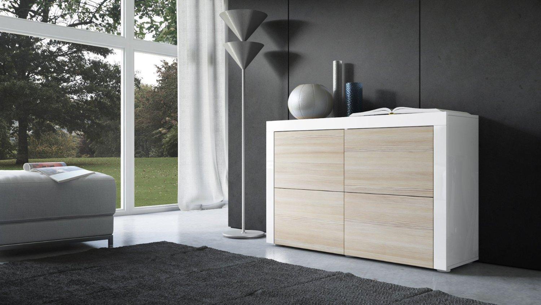 Credenza Moderna Grigia : Credenza cassettiera moderna napoli comò in due modelli design