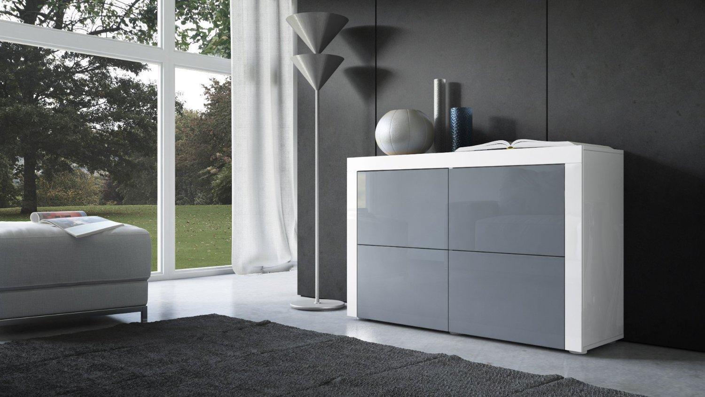 Credenza Moderna Color Tortora : Credenza cassettiera moderna napoli comò in due modelli design