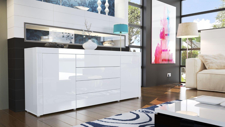 Credenza Moderna Napoli : Madia moderna napoli credenza bianca in colori di design