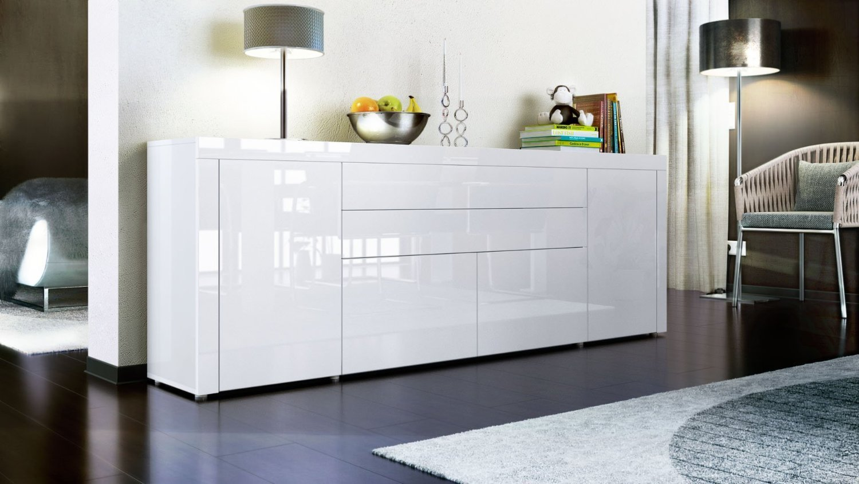 Mobile Soggiorno Bianco Ikea : Credenza moderna napoli mobile soggiorno design molto