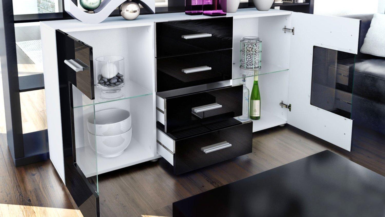 Mobile Credenza Moderna : Credenza moderna roma madia di design mobile soggiorno