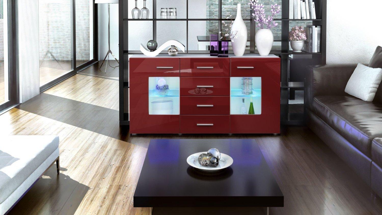 Credenza Moderna Roma : Credenza moderna roma madia di design mobile soggiorno