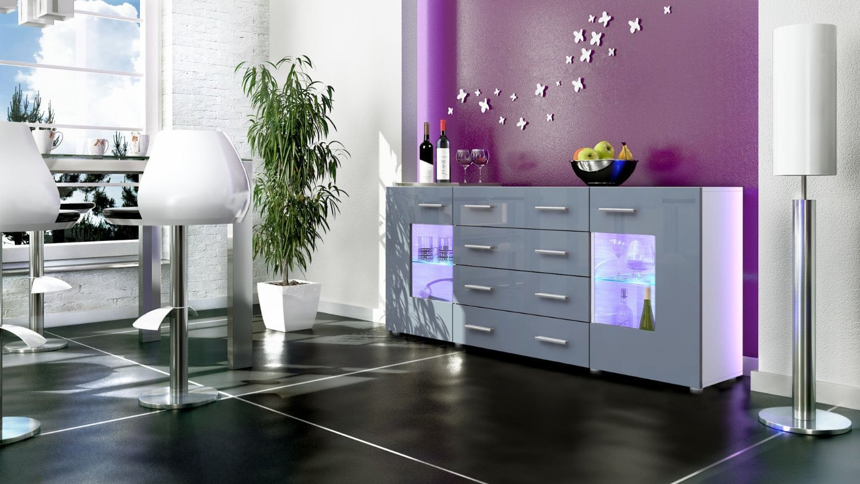 Offerte Credenza Moderna : Credenza moderna roma madia di design mobile soggiorno